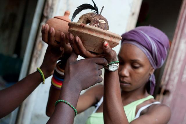 Santeria religion / cult in Cuba 2012/13